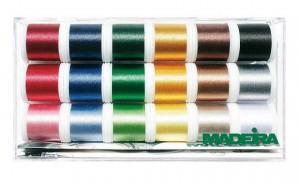 Набор вышивальных ниток Madeira Rayon 18*200м