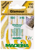 Иглы Glamour titanium № 100 ( 3 шт. )