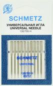 Иглы SCHMETZ Universal 130/705H № 80, 10 шт