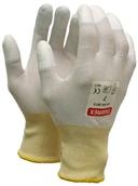 """Нейлоновые рабочие перчатки TAMREX 44-3615 """"B"""" с покрытыми PU кончиками пальцев"""