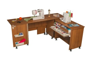 Стол для швейной машины и оверлока Комфорт - 7