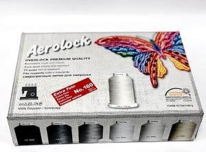 Набор ниток Madeira Aerolock №180 (24x2000m)